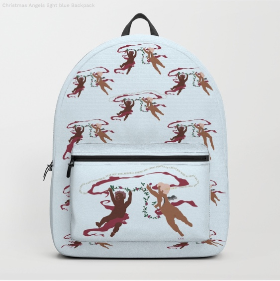 Christmas Angels Backpack